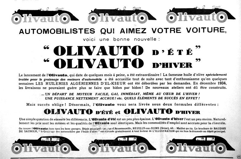 Généralités sur l'Huile Olivau11