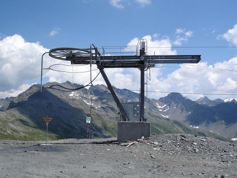 Historique du domaine skiable de La Rosière Dsc01110