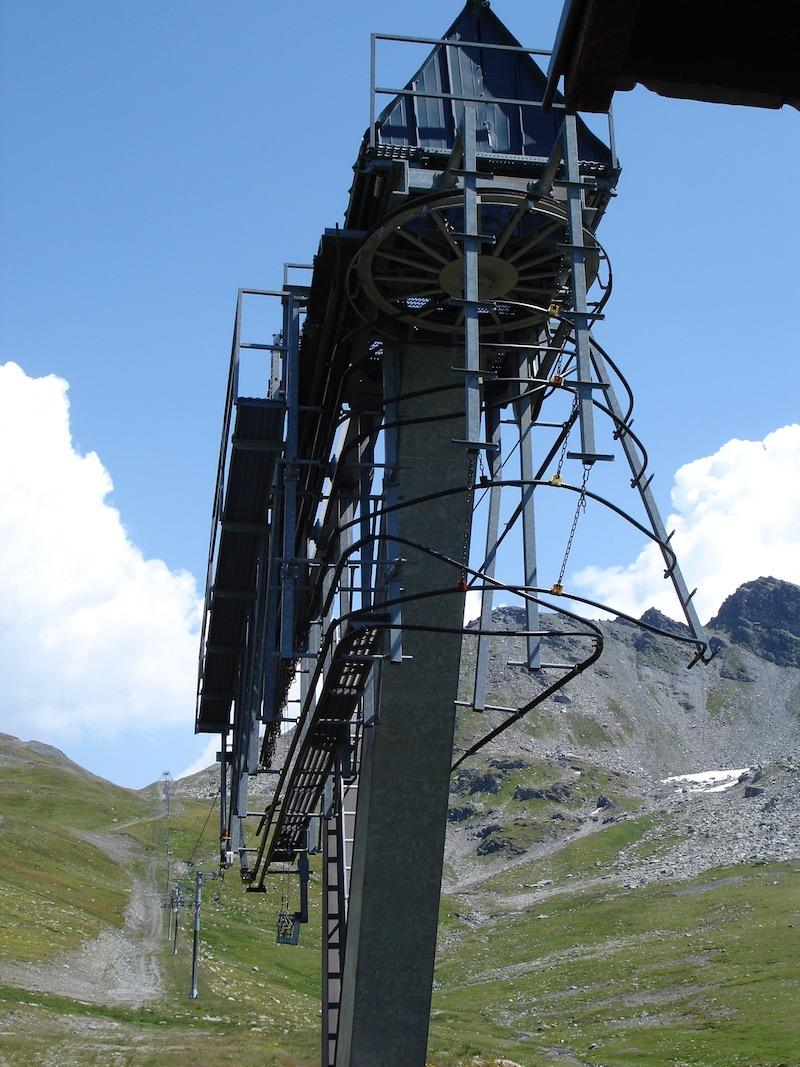 Historique du domaine skiable de La Rosière Dsc01210