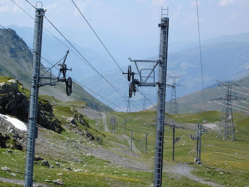 Historique du domaine skiable de La Rosière Dsc01211