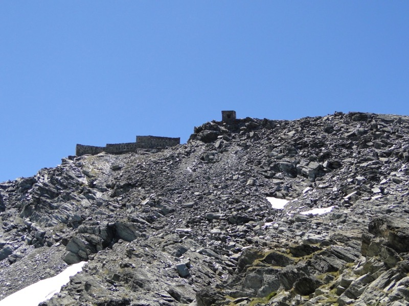 Barrage du mont Cenis - Fort de Malamot - Pointe Droset Dsc05646