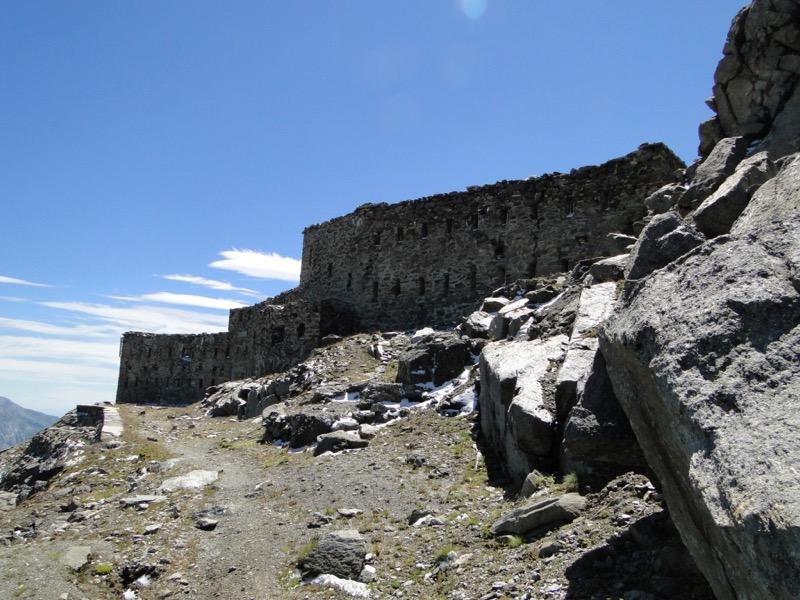 Barrage du mont Cenis - Fort de Malamot - Pointe Droset Dsc05649