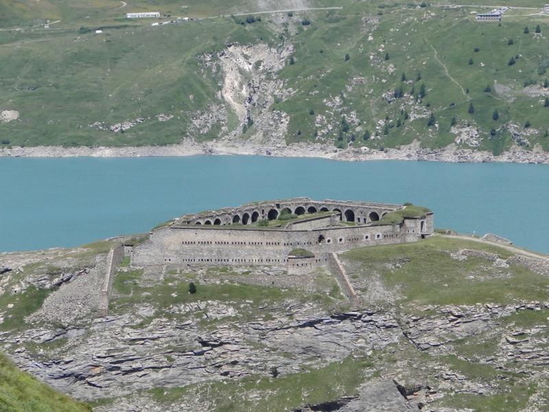 Barrage du mont Cenis - Fort de Malamot - Pointe Droset Dsc05712