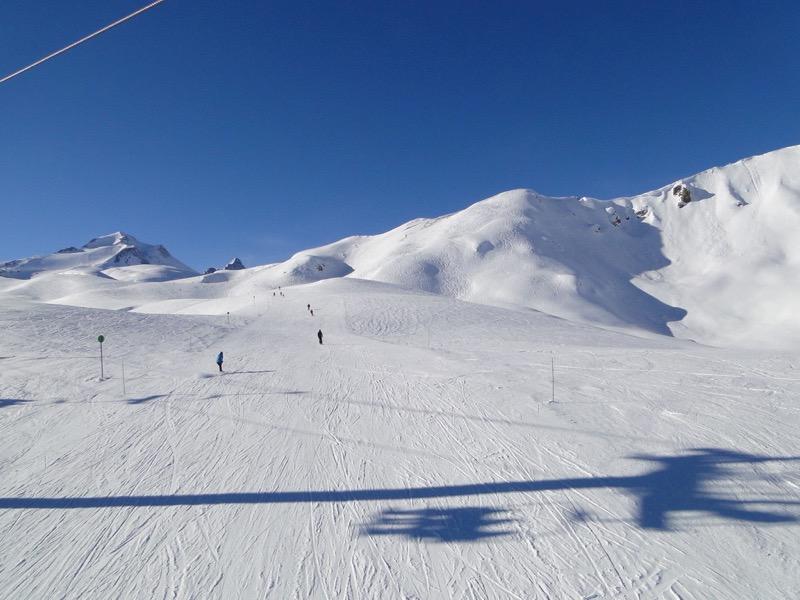 [Val d'Isère] Données sur les pistes Dsc06523