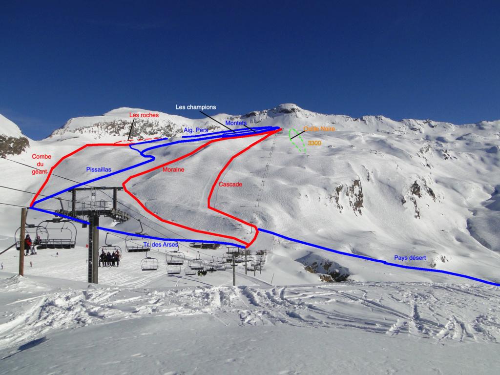 [Val d'Isère] Données sur les pistes Dsc06810