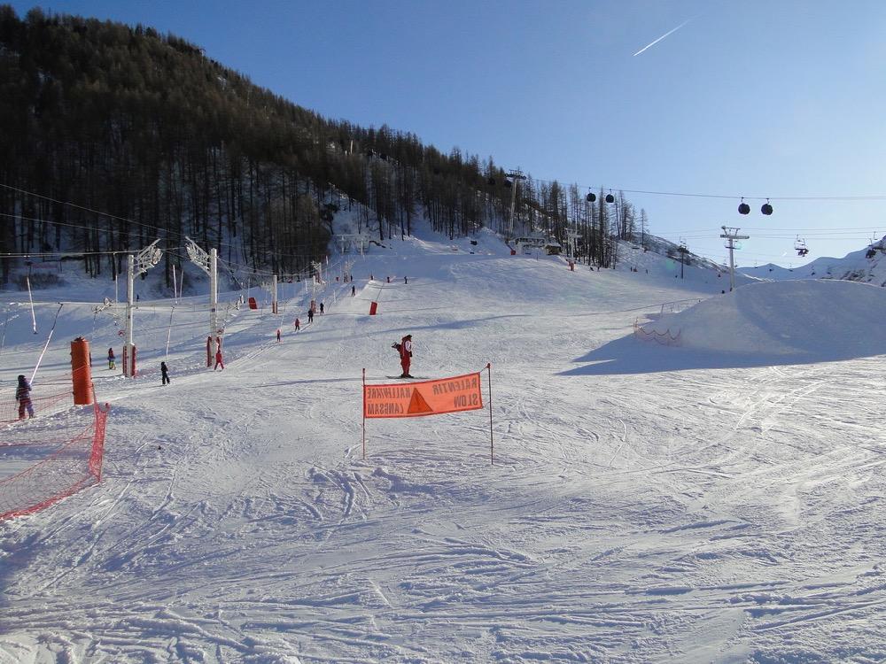 [Val d'Isère] Données sur les pistes Dsc06910