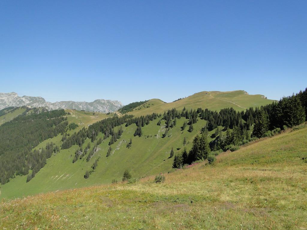 Châtel - Pointe des Ombrieux - Le Morclan - Châtel Dsc07123