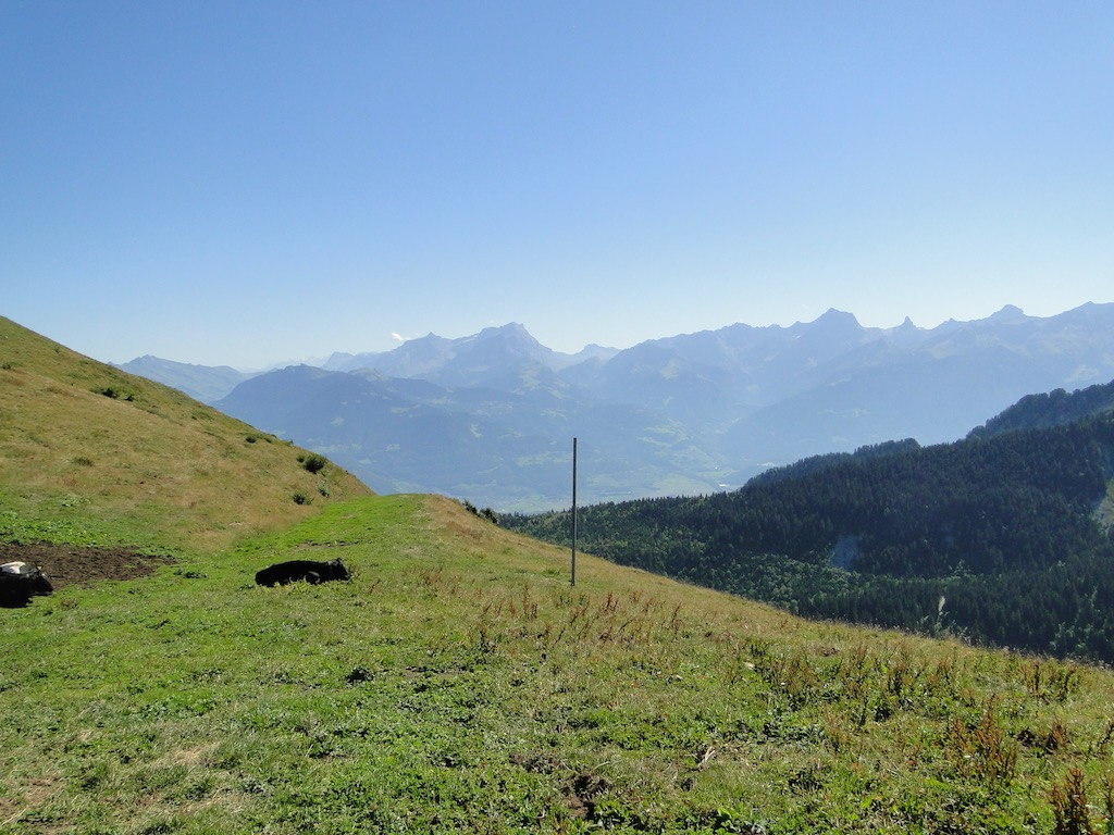 Châtel - Pointe des Ombrieux - Le Morclan - Châtel Dsc07125