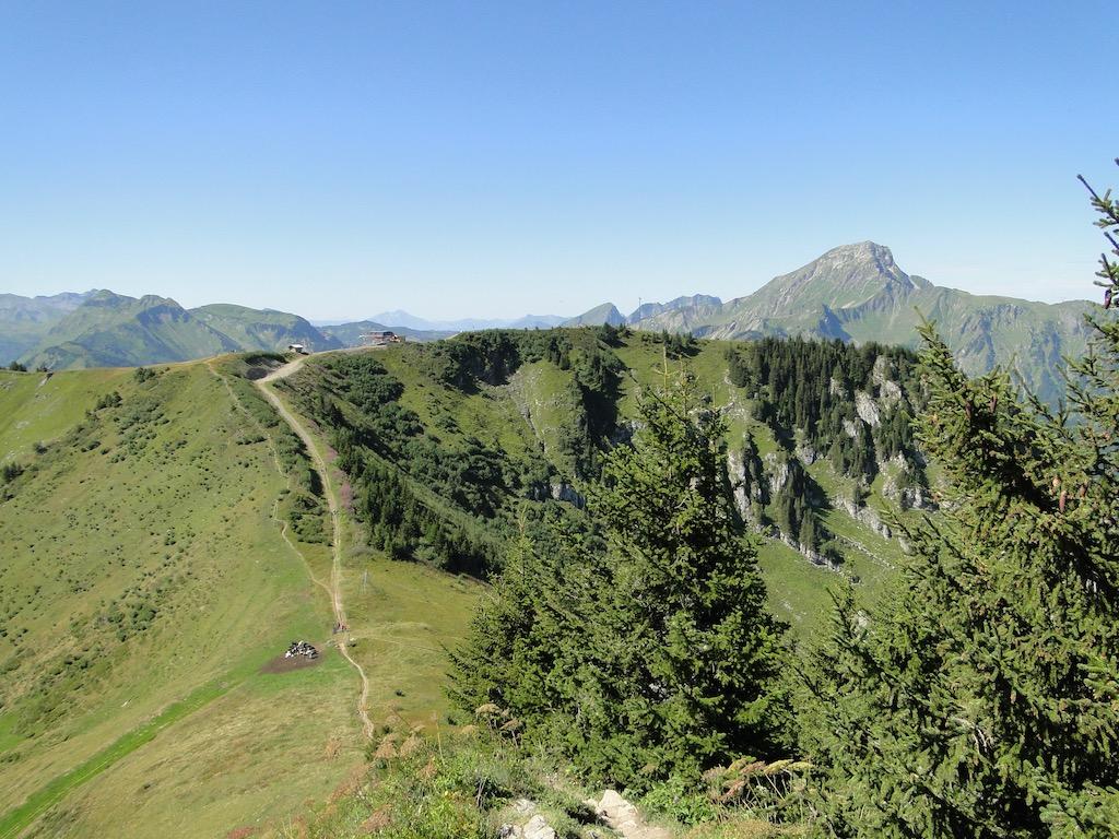 Châtel - Pointe des Ombrieux - Le Morclan - Châtel Dsc07134