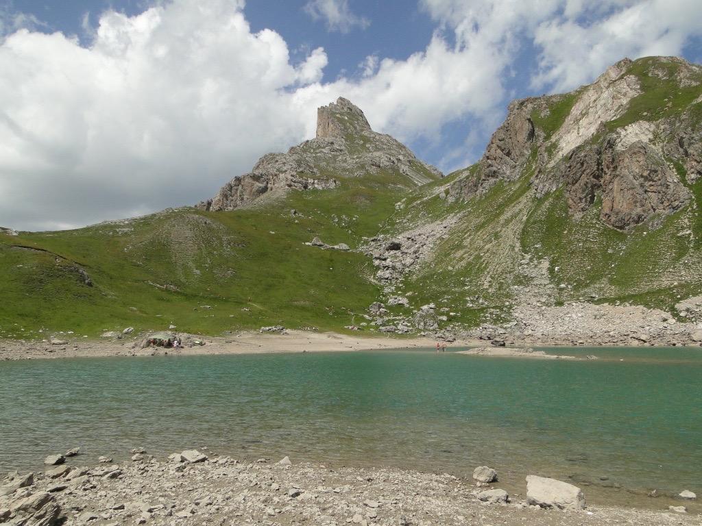 Valloire (Plan Lachat) - col des Rochilles - col des Cerces Dsc07277