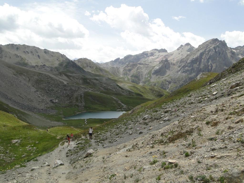 Valloire (Plan Lachat) - col des Rochilles - col des Cerces Dsc07284