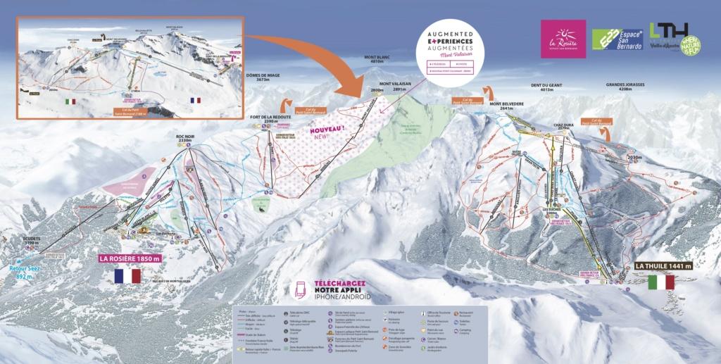 Historique du domaine skiable de La Rosière La_ros10