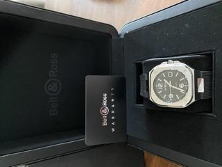 [Baisse de prix][Vends] Bell&Ross BR05 Black Steel    2660€ 1fc32910