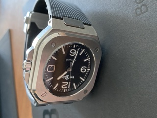 [Baisse de prix][Vends] Bell&Ross BR05 Black Steel    2660€ 7db02310