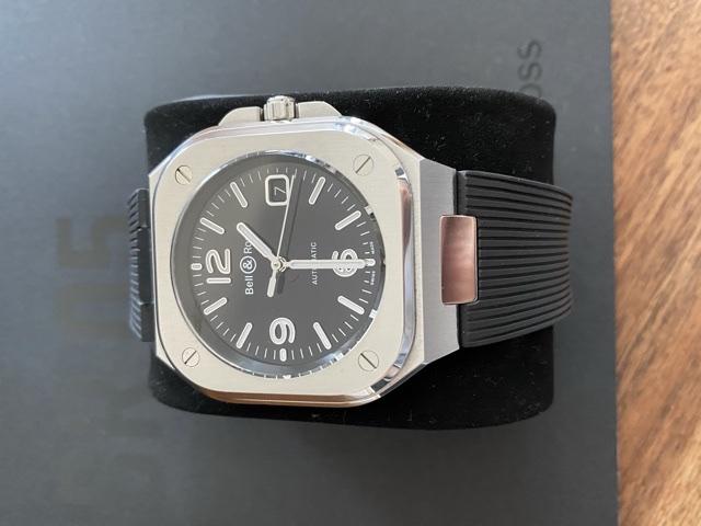 [Baisse de prix][Vends] Bell&Ross BR05 Black Steel    2660€ C1eb7f10