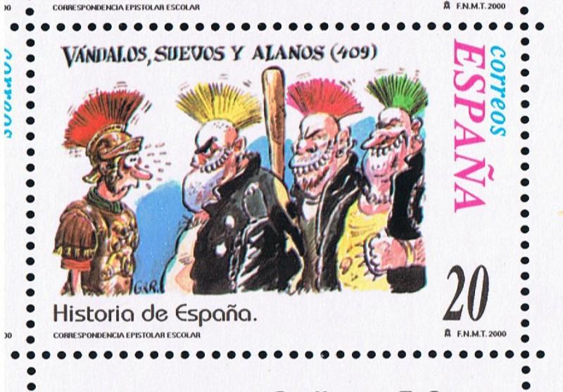 Historia de los Alanos en España Sello_11