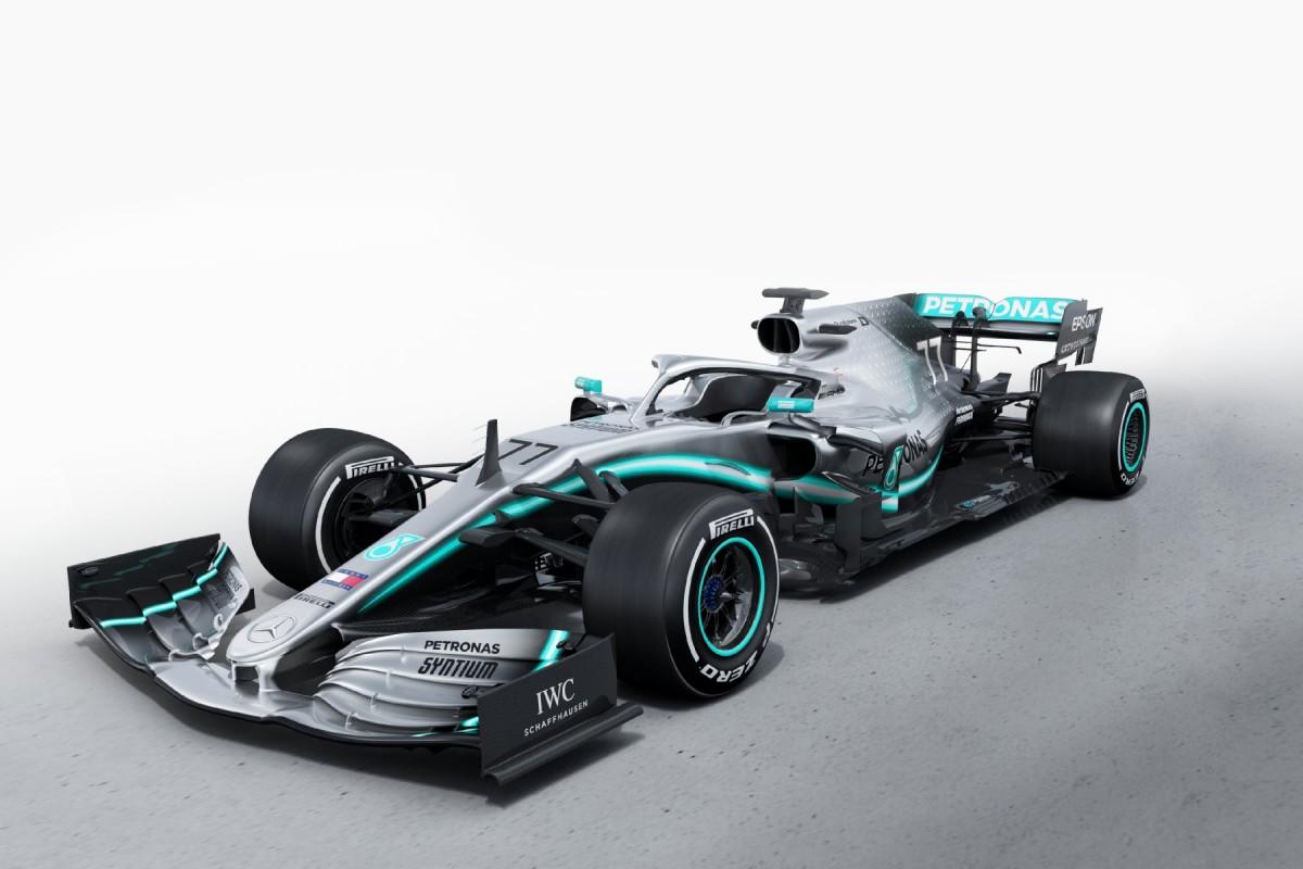 Mercedes AMG Petronas Motorsport - #44 Lewis Hamilton et #77 Valtteri Bottas W10-110