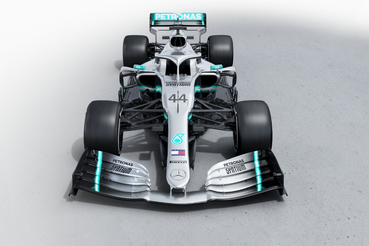 Mercedes AMG Petronas Motorsport - #44 Lewis Hamilton et #77 Valtteri Bottas W10-210