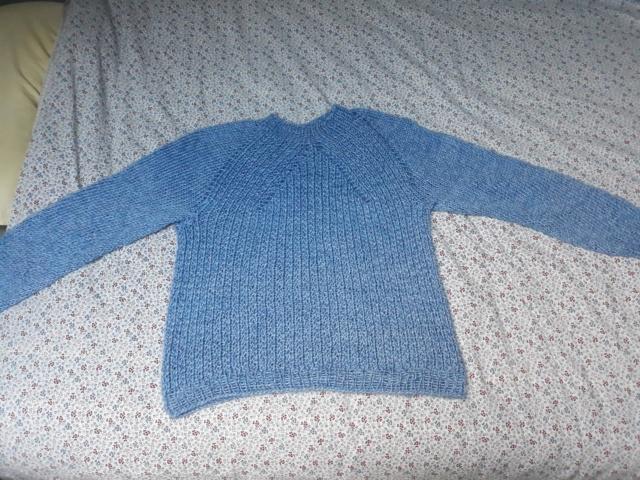 (tricot) pull Drops tricoté en une pièce de haut en bas 20181111
