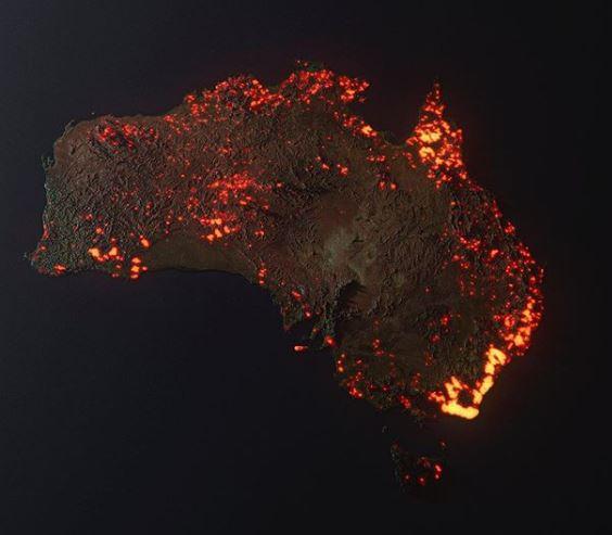 Incendies en Australie Austra10