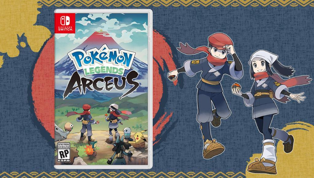 Pokémon Legends Arceus (Sinnoh-pen World Pokémon) 20210511