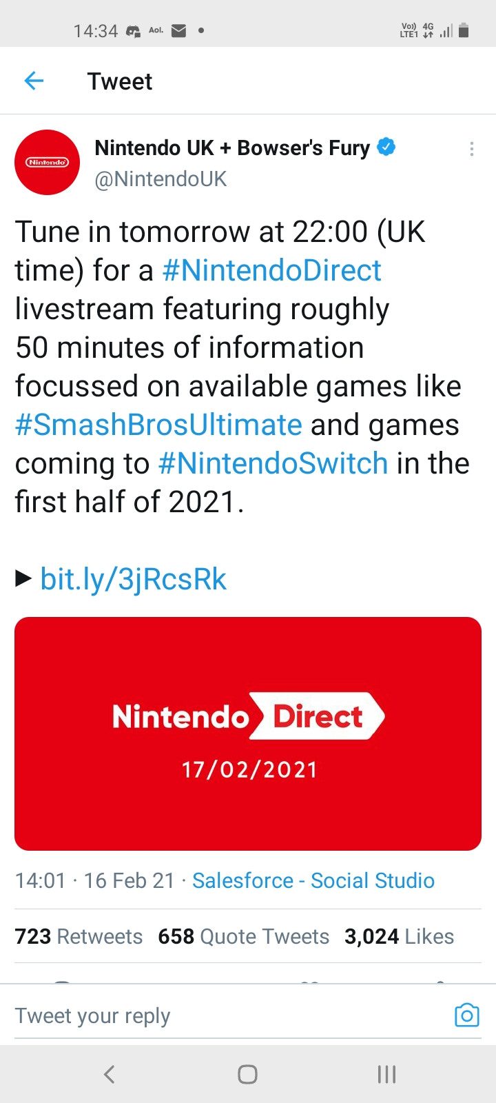 Nintendo Direct/Indie World/Treehouse/Showcase Discussion Thread - Directly 2 You - Page 4 Screen10