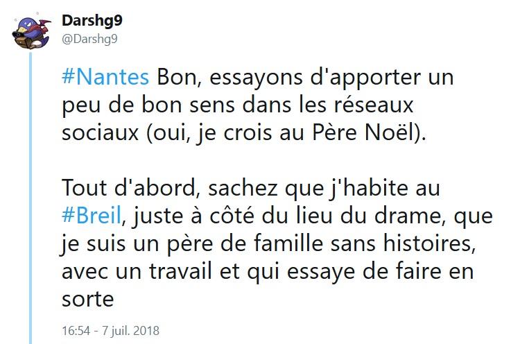 Violences à Nantes - Le cri du coeur d'un père de famille du Breil  Nantes10