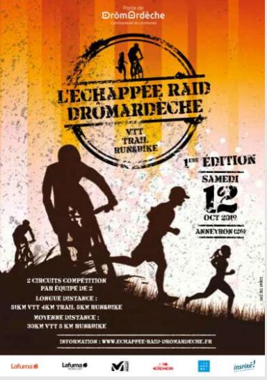 Samedi 12 octobre-L'Échappée Raid DrômArdèche Zochap12
