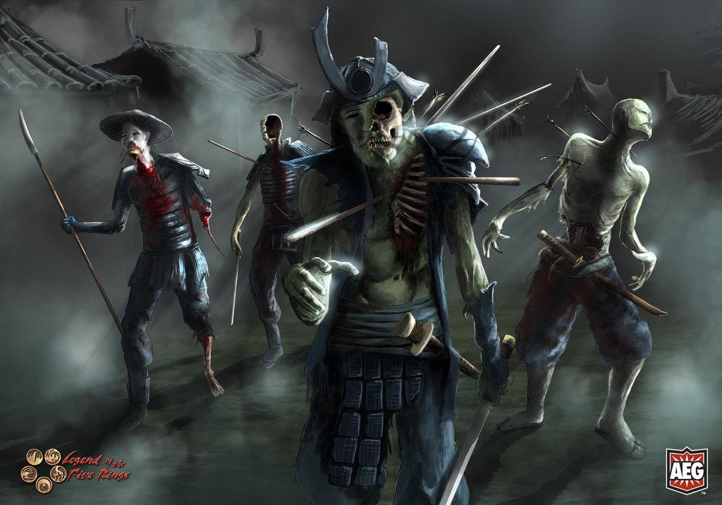 L5R, Living Rokugan Zombie10