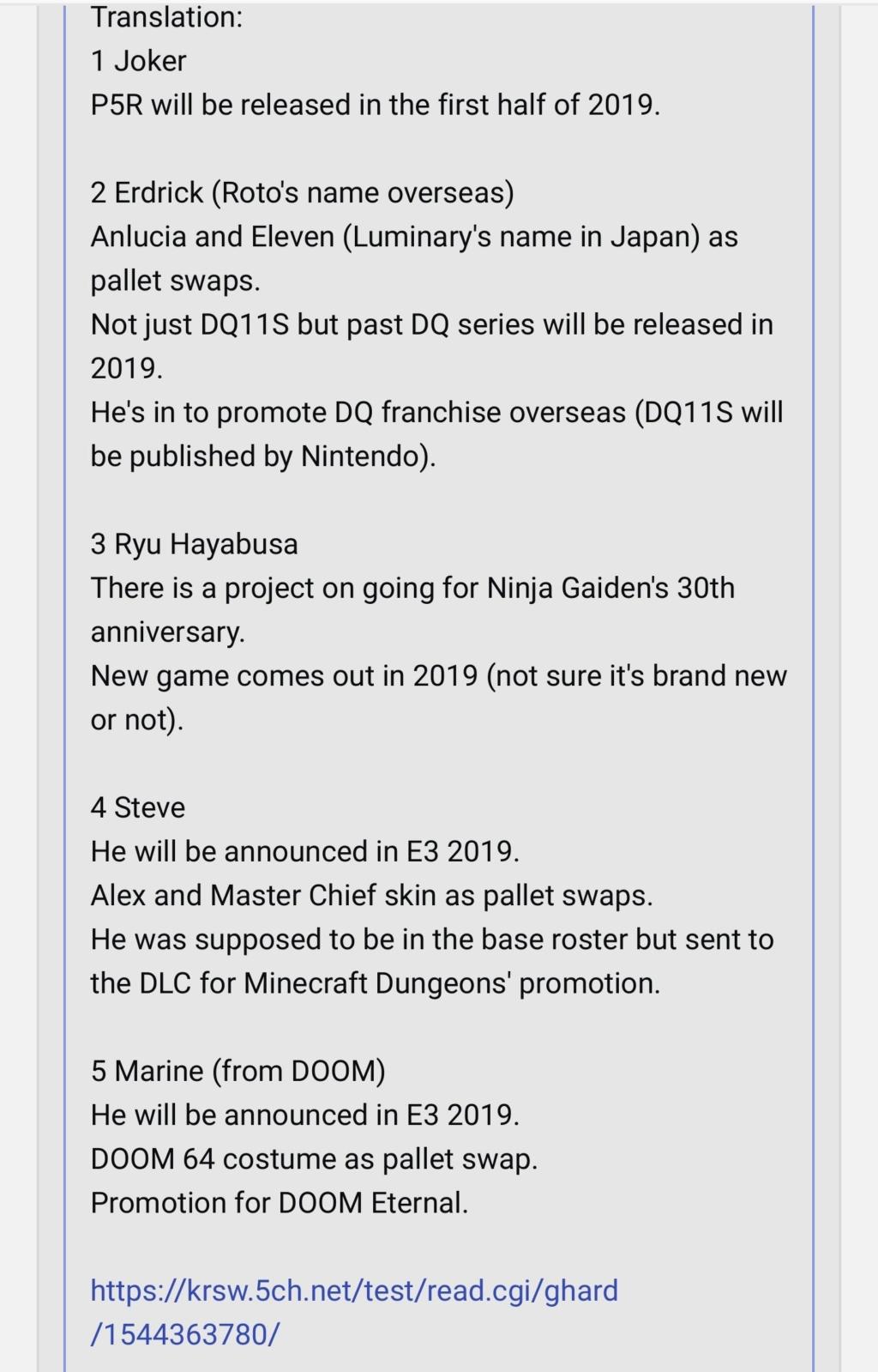 "Les fuites de DLC ""crédibles"" : Joker leak, Persona leak, etc. Doom_l10"