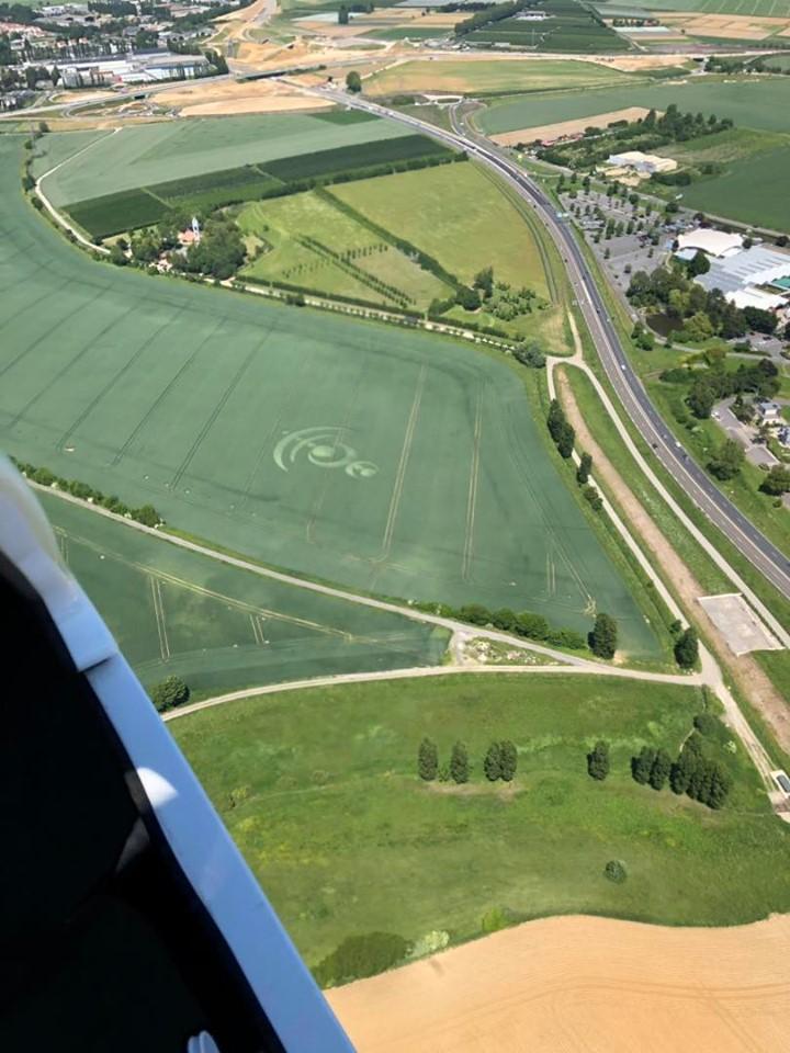 Crop circle à Baillet-en-France (95) 61758010