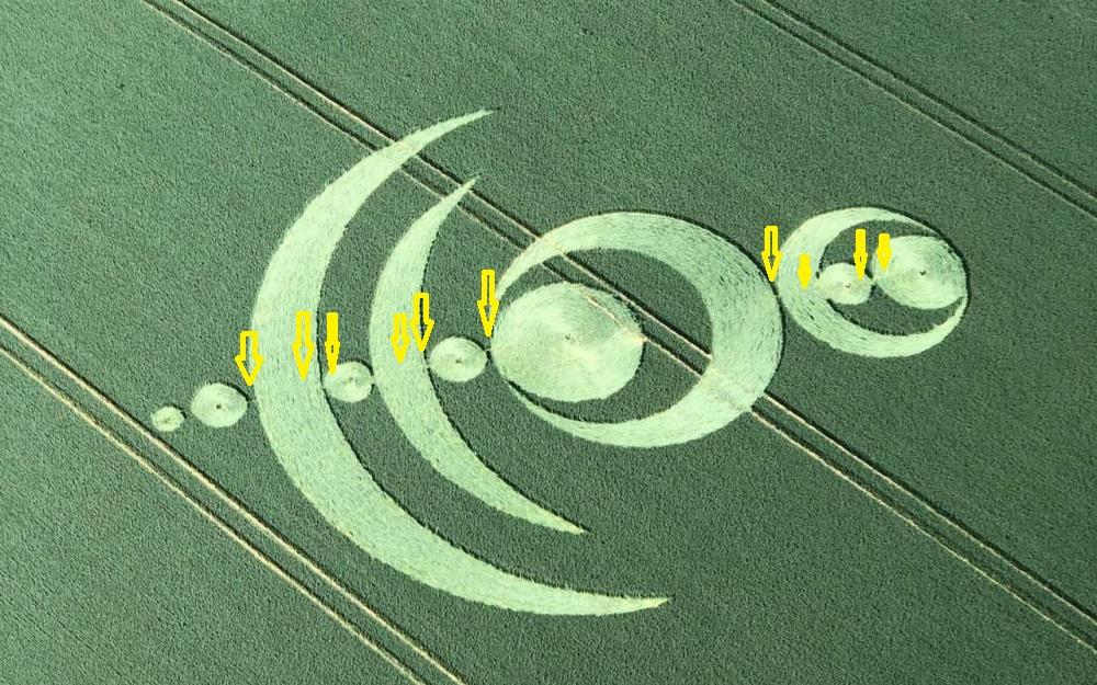 Crop circle à Baillet-en-France (95) Baille16