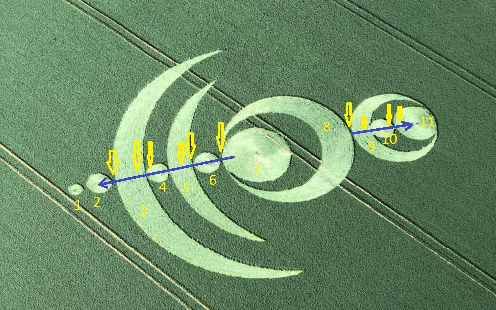 Crop circle à Baillet-en-France (95) Baille17