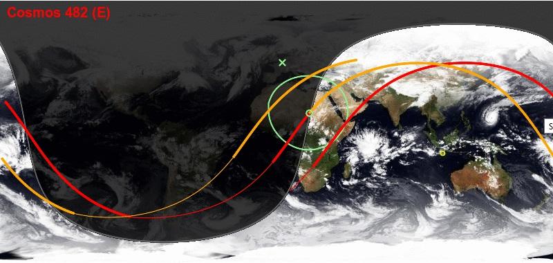 Rentrée atmosphérique de Kosmos 482 K482_610