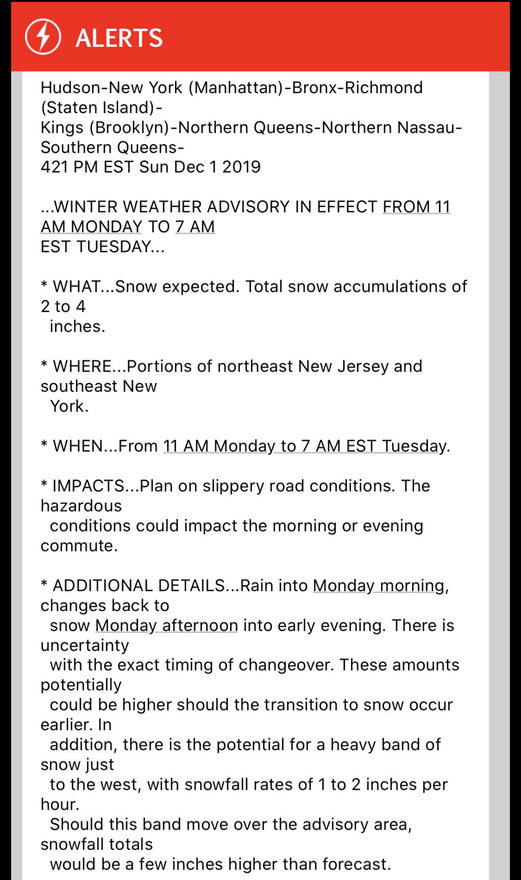 December 1st-2nd Winter Storm Observations  - Page 5 64bd9110