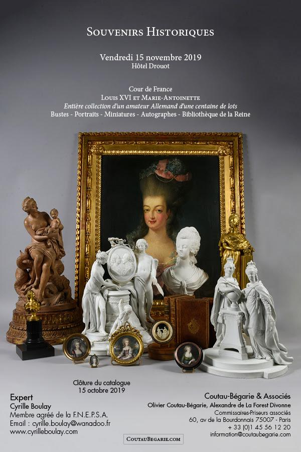 Vente de Souvenirs Historiques - aux enchères plusieurs reliques de la Reine Marie-Antoinette - Page 7 Zfer13