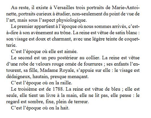 L'iconographie de Marie Antoinette par Alexandre Dumas Zvale217