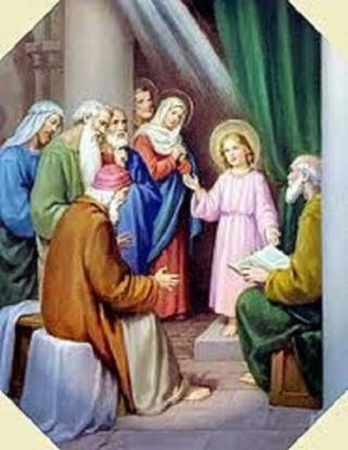 """*** Oeuvre de Maria Valtorta : """" Jésus opère des Miracles dans la maison de Pierre  """" *** - Page 2 Jesus_33"""