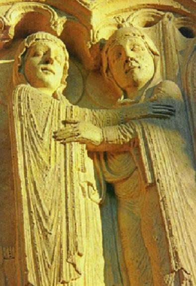 Après l' incendie de Notre Dame : Sous le regard de Marie et d'Elisabeth Marie_40