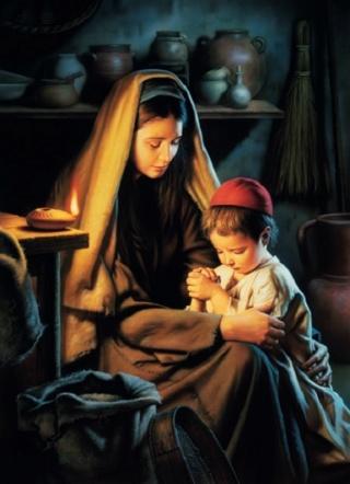 """*** Oeuvre de Maria Valtorta : """" Jésus opère des Miracles dans la maison de Pierre  """" *** - Page 2 Marie_46"""