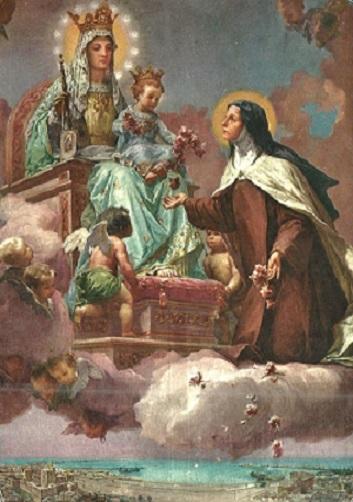 """***  """"   Aujourd'hui c'est la Fête de Ste Thérèse de Lisieux  """" *** Thzorz12"""