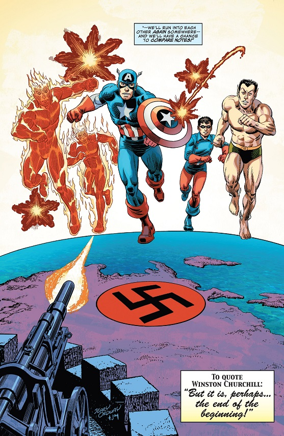 Captain America & The Invaders: Bahamas Triangle written by Roy Thomas -_capt10