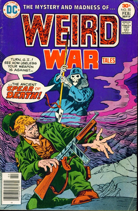 Spear of Destiny: Should It Return to DC's WWII History? 001_we10