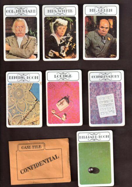 Board Games: Get a Clue(do) 1970s_10