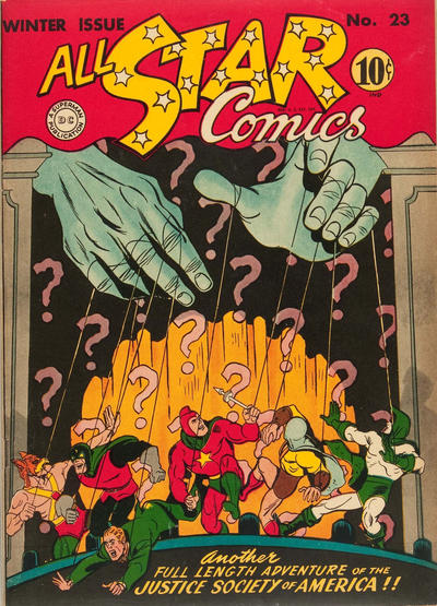 Happy 80th Anniversary (80th and ½?) to the Golden Age Spectre (Jim Corrigan)  All-st40