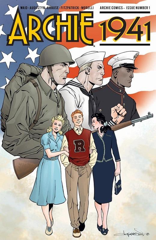 Archie 1941: another Archie mini-series! Archie14