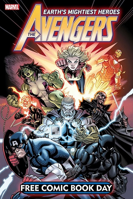 Free Comic Book Day 2019 Avenge15