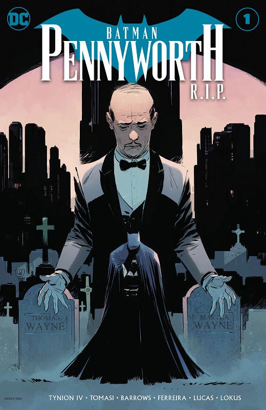 BATMAN: PENNYWORTH R.I.P. #1 Batman24