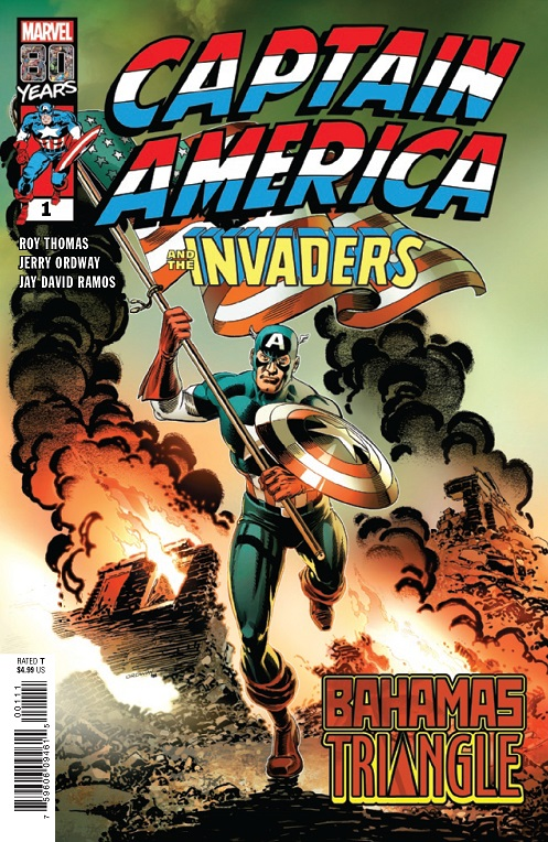 New - Captain America & The Invaders written by Roy Thomas Captai29