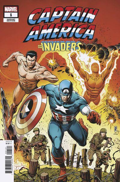 Captain America & The Invaders: Bahamas Triangle written by Roy Thomas Captai30